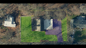 satelitte view of property with mapping overlay